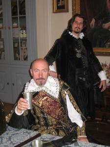 Albrecht z Valdštejna a sekretář