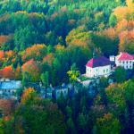 Podzimní letecký pohled
