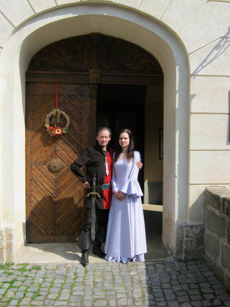 Průvodkyně a loupeživý rytíř Šof, obrázek se otevře v novém okně